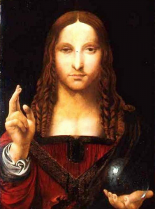 salvator mundi by da vinci